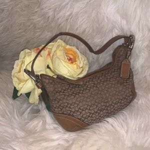 COACH • Signature Small Hobo Bag